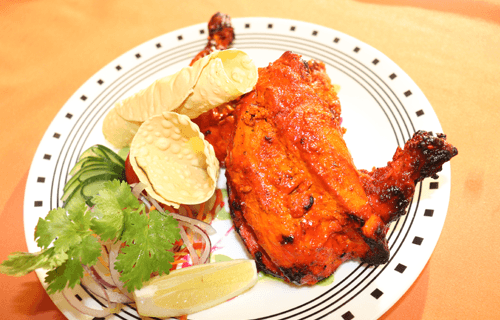 Explore Indian Cuisine Non-Vegetarian food, Butter Chicken, Bhuna Chicken, Chicken Kadai, Lamb & Goat dishes and many more